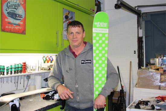 Image of Glen Charman, owner of Power To Edge Ski Tuning